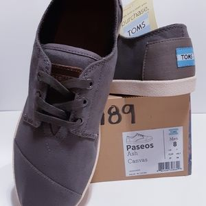 TOMS Paseos Ash Canvas